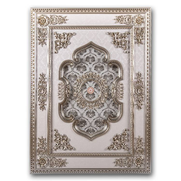 Banruo New Coming PS Decorative Rectangle Ceiling Material Panel Ceiling Medallions Contemporary for Home Decoration