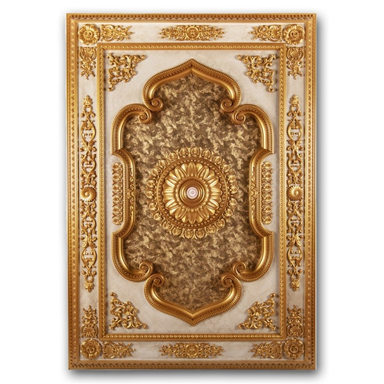 Banruo New Coming Style PS 3D Decorative Rectangle Ceiling Panel Board for Home Decoration