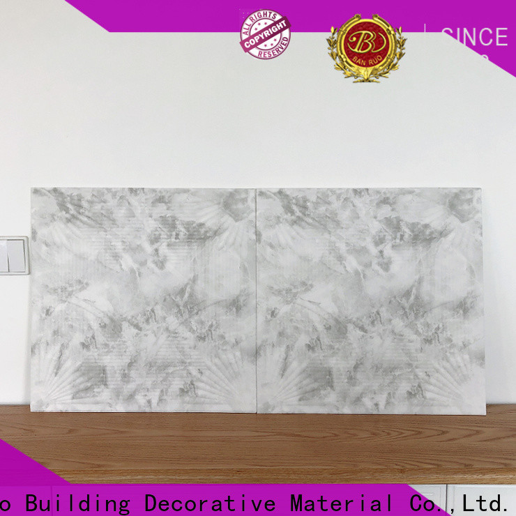 Banruo 3d wall panels living room supply for sale