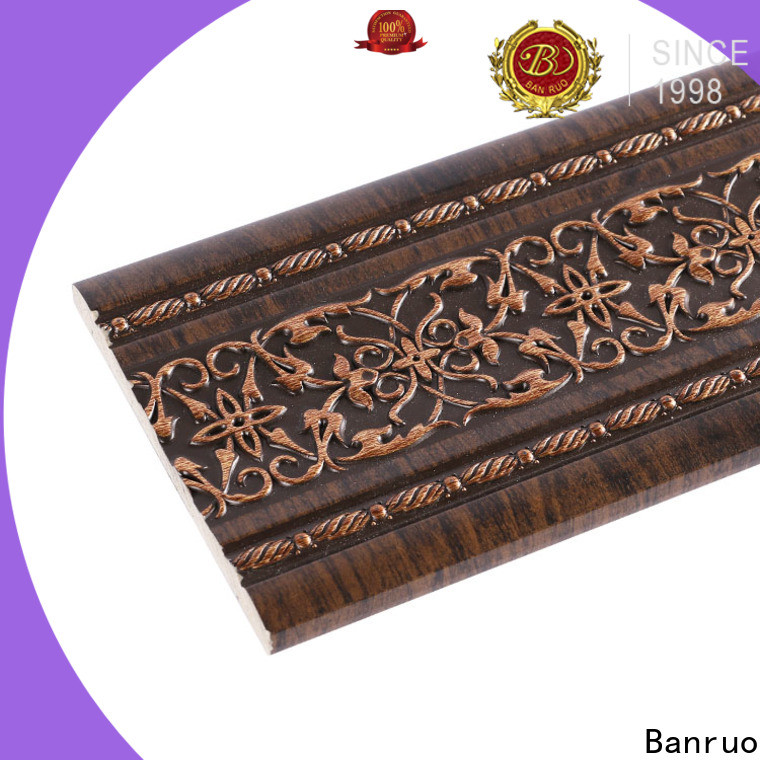 Banruo factory price different types of crown moulding wholesale for decoration
