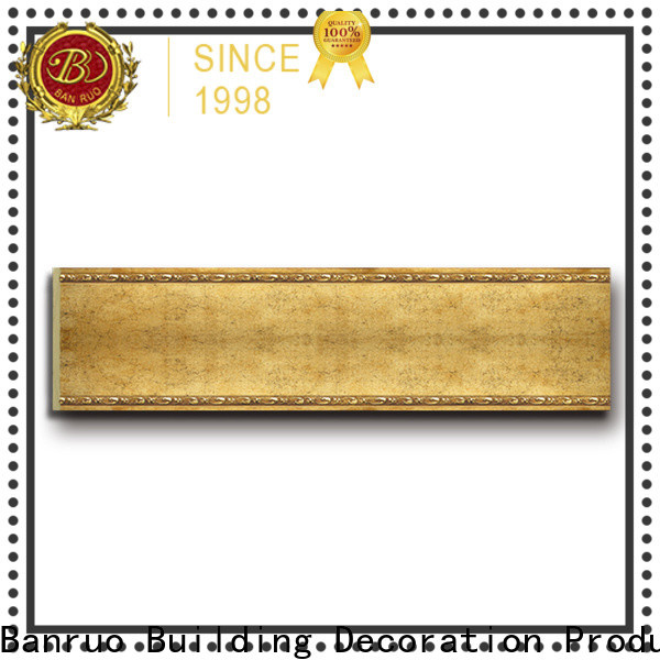 Banruo decorative baseboards best supplier for promotion