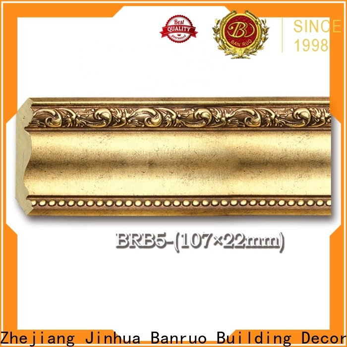 Banruo standard crown molding sizes from China with high cost performance