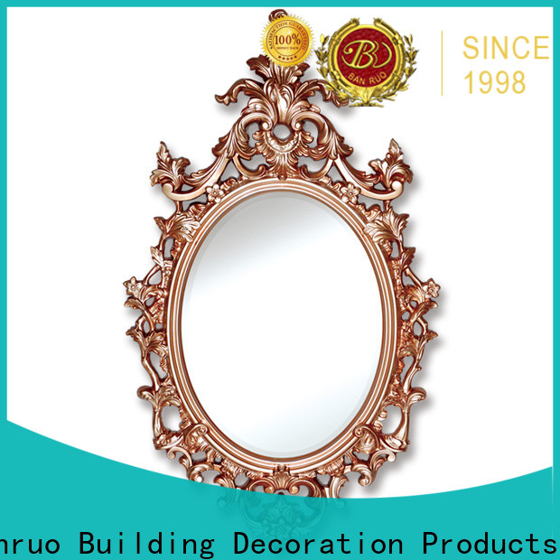 Banruo hot selling mirrored wall frames factory for decor