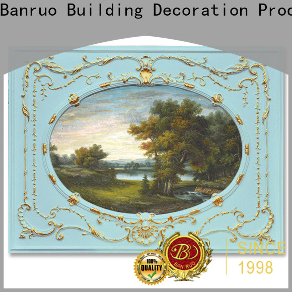 Banruo new mirrored wall frames for business for promotion