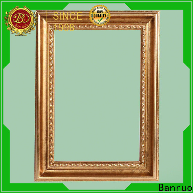 Banruo hot-sale easy mirror frame manufacturer with high cost performance