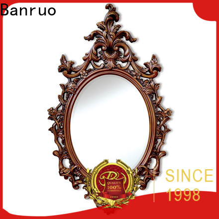 Banruo quality wood framed wall mirrors series with high cost performance