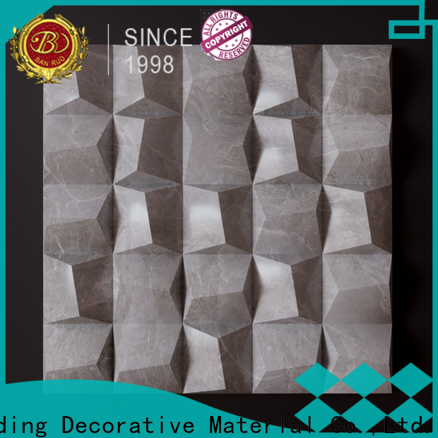 Banruo professional 3d wall panels living room series for building decor
