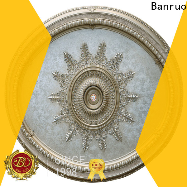 Banruo ceiling medallions no hole company for building decor