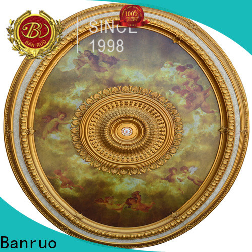 Banruo high-quality ceiling medallion size for chandelier company with high cost performance