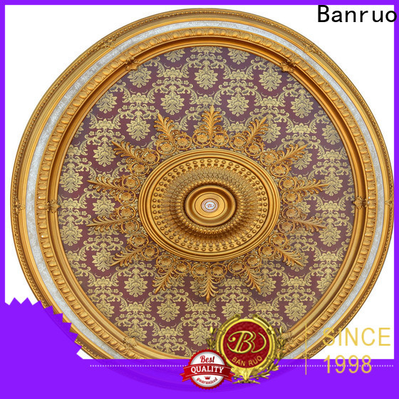 Banruo practical portfolio ceiling medallion installation series for decor