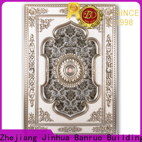 Banruo top quality rectangle shaped ceiling medallions supply for sale