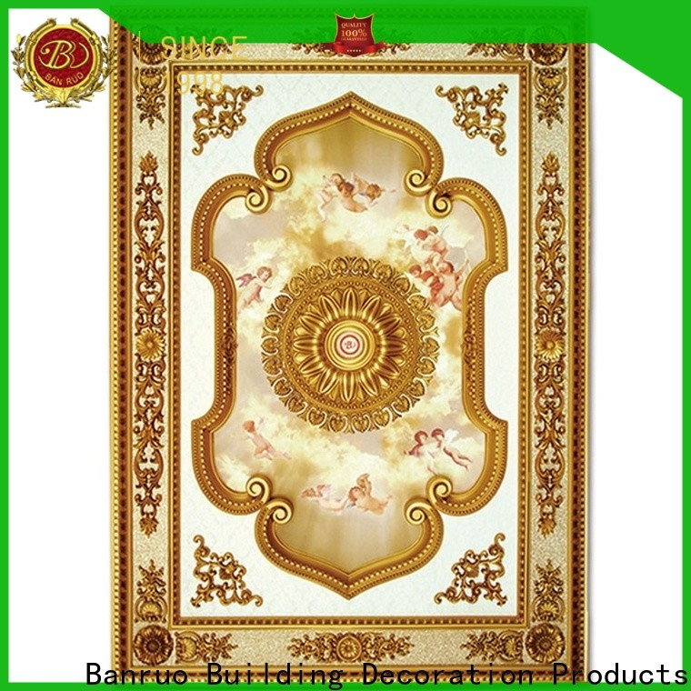 Banruo best price finished ceiling medallions for business for home