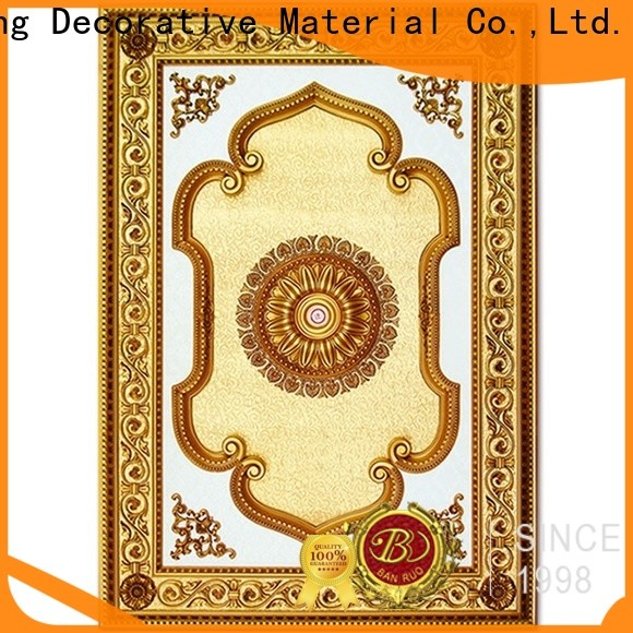 Banruo professional extra large ceiling medallions directly sale for sale