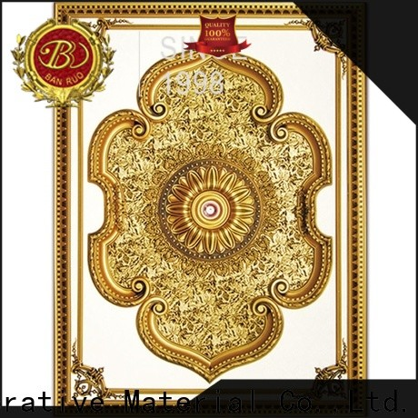 Banruo ceiling fixture medallion supplier for decoration
