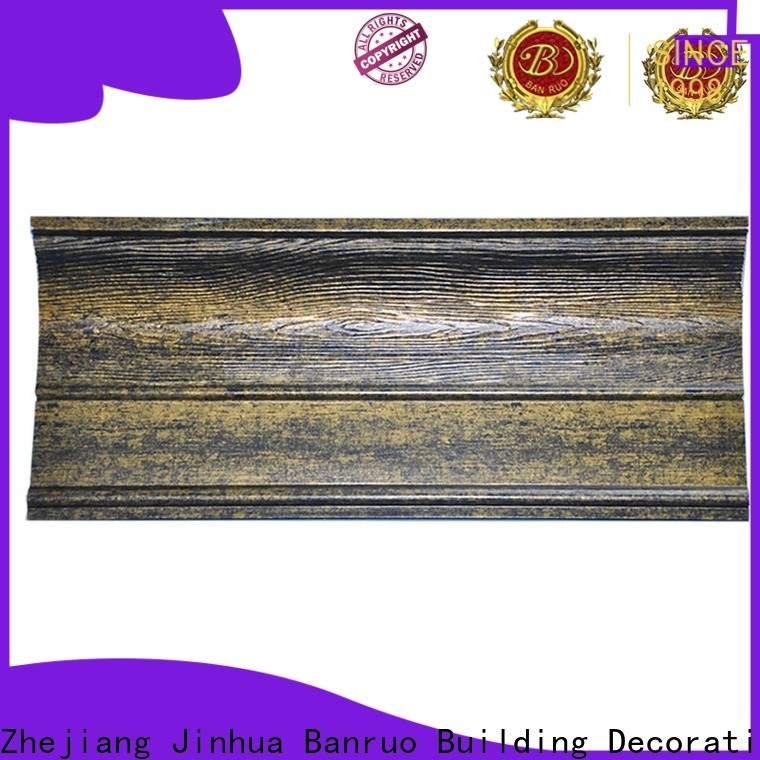 Banruo eco-friendly low cost crown molding company for decoration