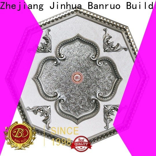 oem decorative ceiling rosettes supply for decoration