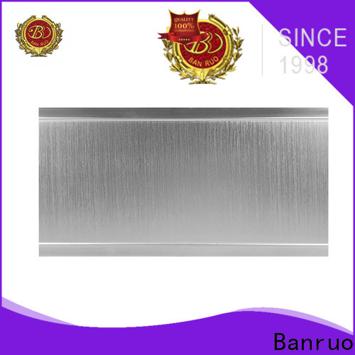 Banruo curved crown molding design for decoration