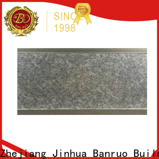 Banruo quality different types of crown moulding supplier on sale