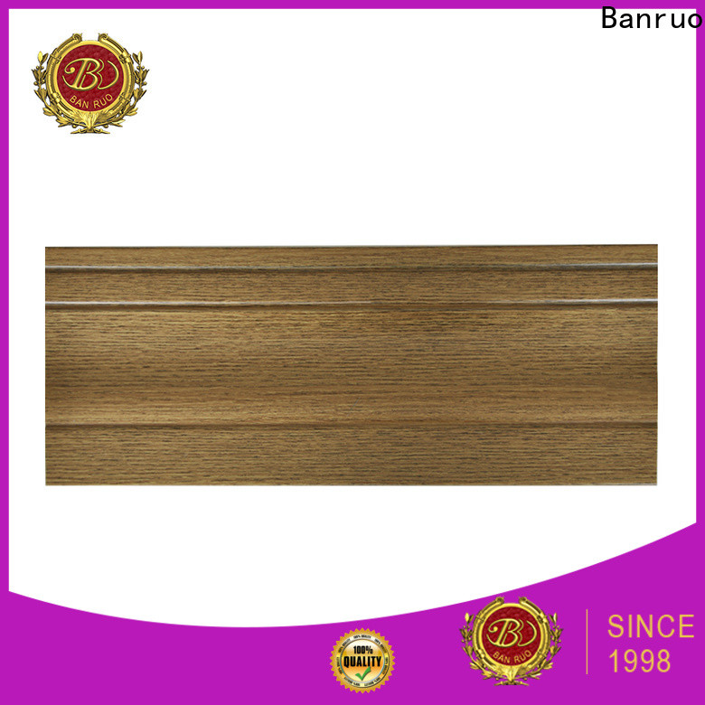 Banruo baseboard molding cost supplier for sale