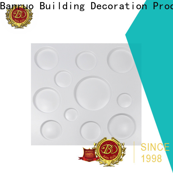 Banruo latest 3d wall cladding panels wholesale for decor