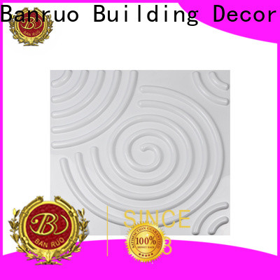 Banruo decorative wood wall panels for interiors for business bulk production