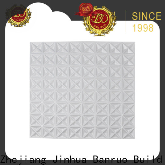 Banruo top selling three dimensional wall tiles supply for decor