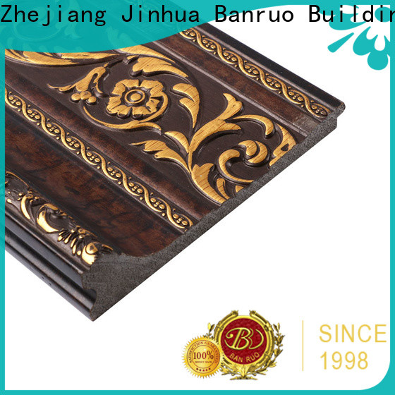 Banruo quality crown molding moulding suppliers for architecture