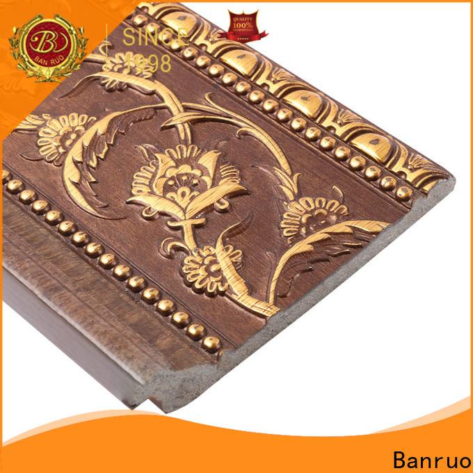 Banruo custom flexible crown molding supplier bulk buy