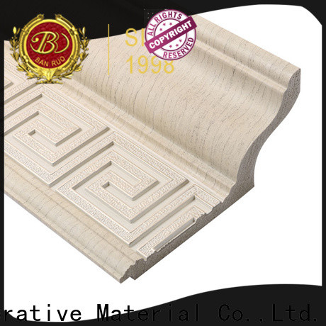 Banruo different kinds of crown molding suppliers for promotion