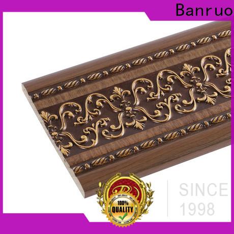 Banruo oem baseboard molding for sale design for building decor