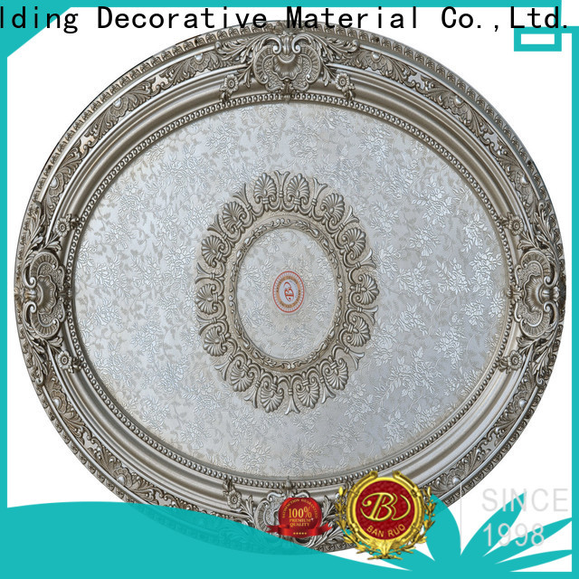 Banruo popular rose ceiling medallion best supplier bulk buy
