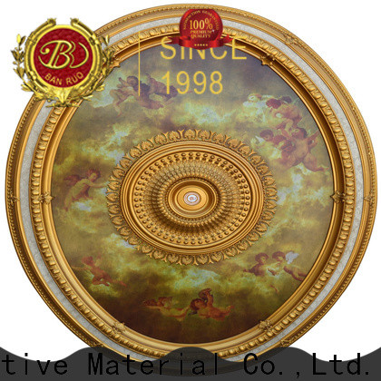 Banruo focal point ceiling medallions supplier for architecture