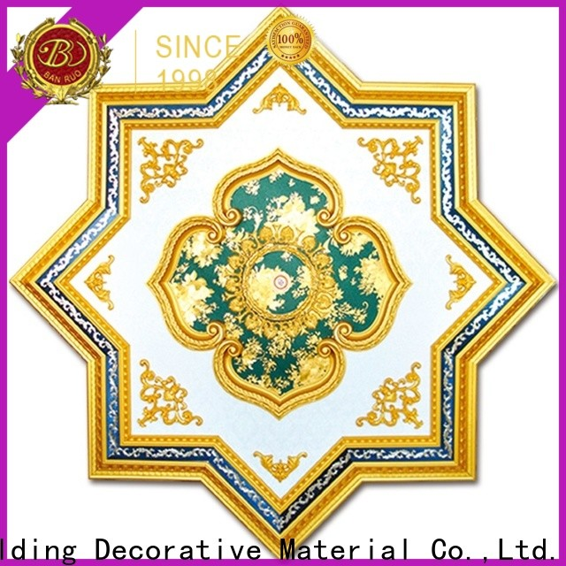 Banruo oversized ceiling medallions factory direct supply bulk production