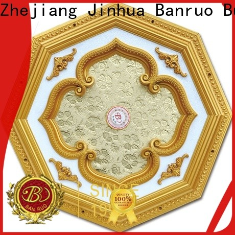 Banruo ceiling medallions without hole supplier for decor