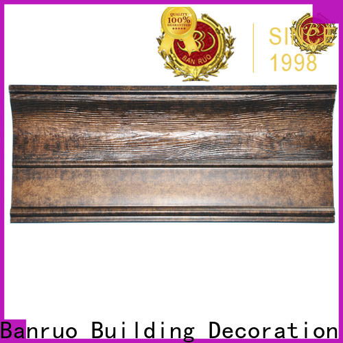 Banruo practical exterior window molding supply for decoration