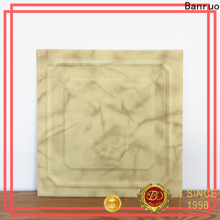 Banruo high quality pvc wall tile panels suppliers for decor