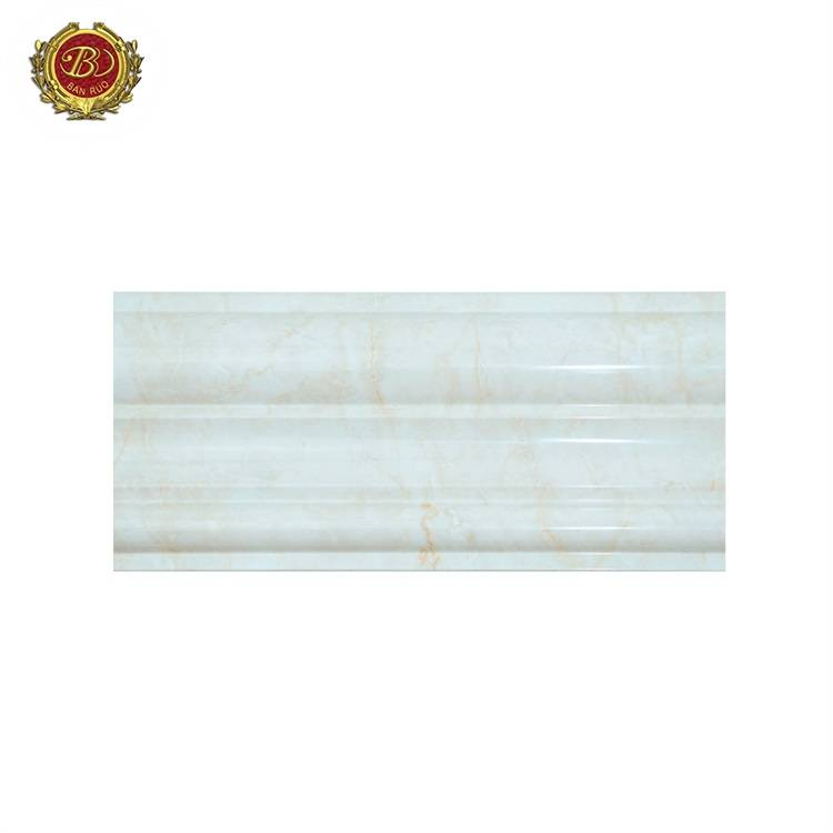 Banruo Cheap Price Polystyrene Marble Pattern Chair Rail Molding Designs for House Decoration