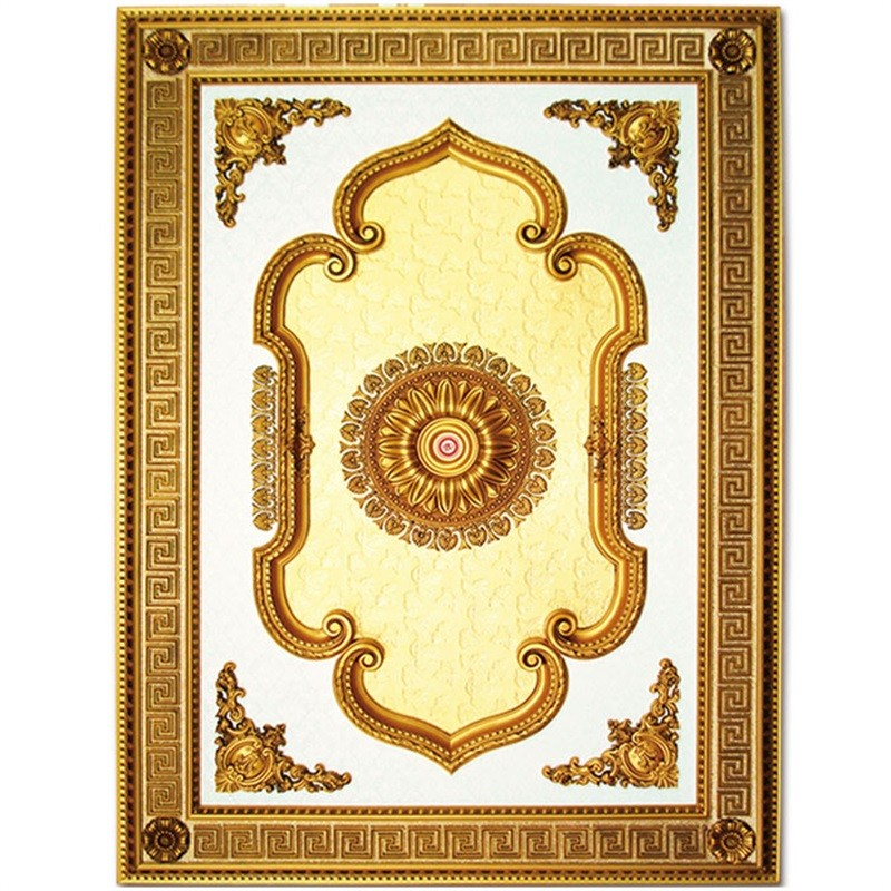 Banruo Artistic Designs Style Plastic PS Ceiling Tiles Board designs for Light Decoration