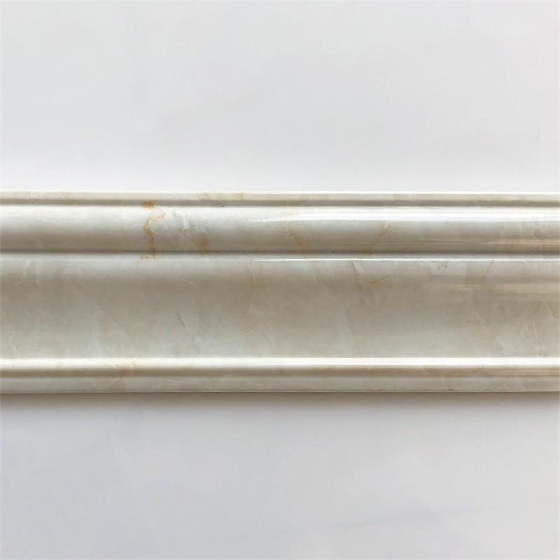 Banruo Latest PS Polystyrene Door Casing Mirror Frame Moulding for Garden
