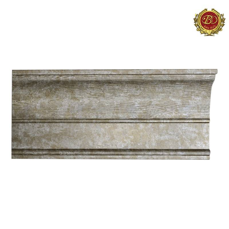 Banruo Antique PS Polystyrene Cove Moulding For Home Decoration