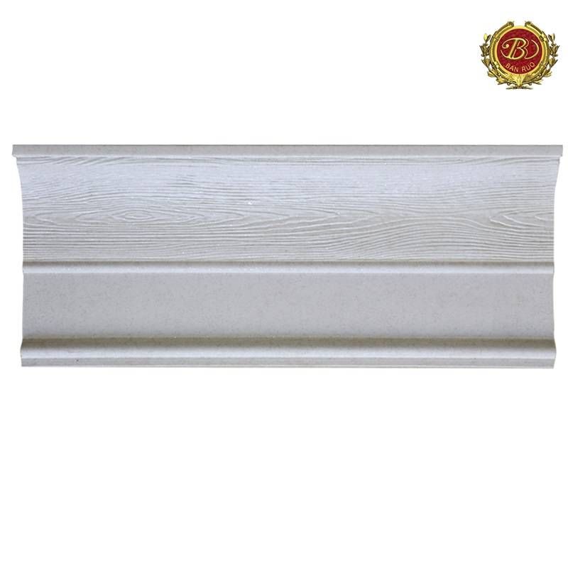 Banruo PS Polystyrene House Window Moulding Crown Moulding For Window Decoration