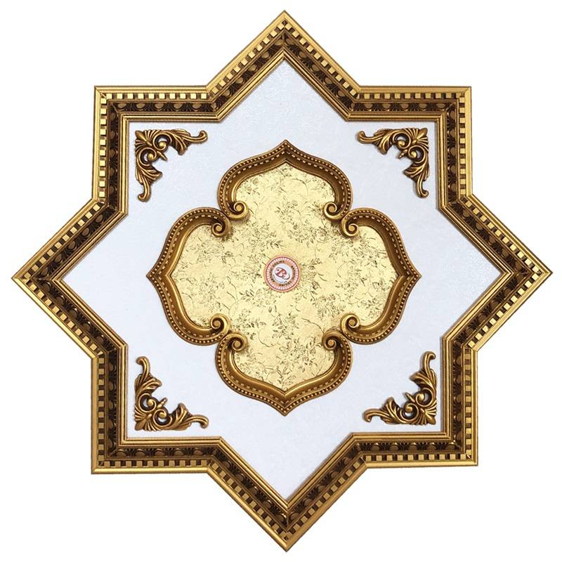 Banruo Artistic Pop Ceiling Design PS Material Ceiling Panel Tiles For Decoration