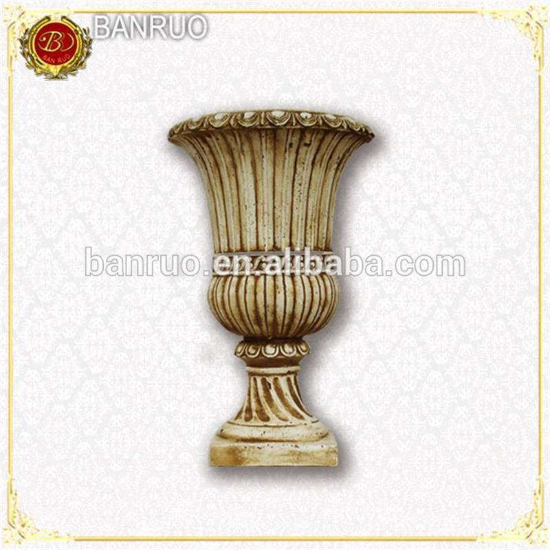 BANRUO Plastic Flowerpot Decorative Vase For Wedding & Garden Architectural Decoration