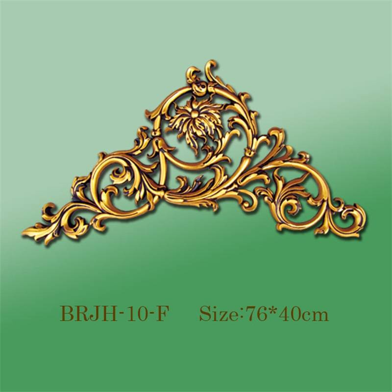 Banruo Polystyrene Plastic Corner Decorations Ornamental Crown Moulding