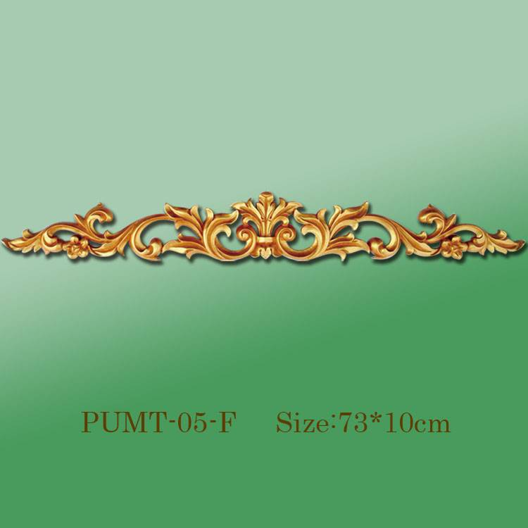Banruo Factory Wholesale PU Material Ceiling Carving Veneer Ornamental Decoration Accessories For Home Decor