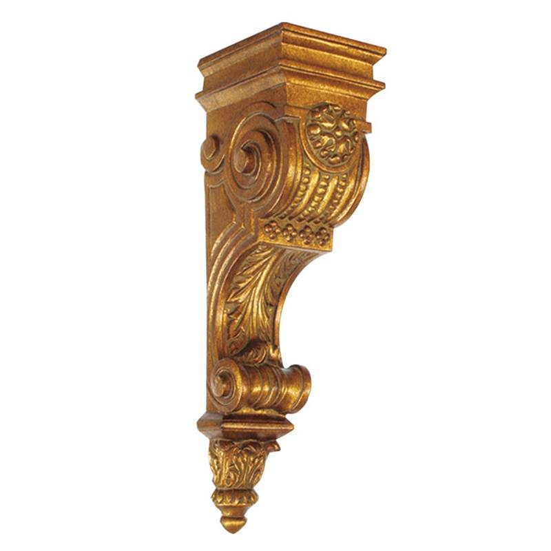 Banruo Architectural Corbel Modern PU Plastic Ceiling Decoration Plaster Beam Support Carving Corbel For Home