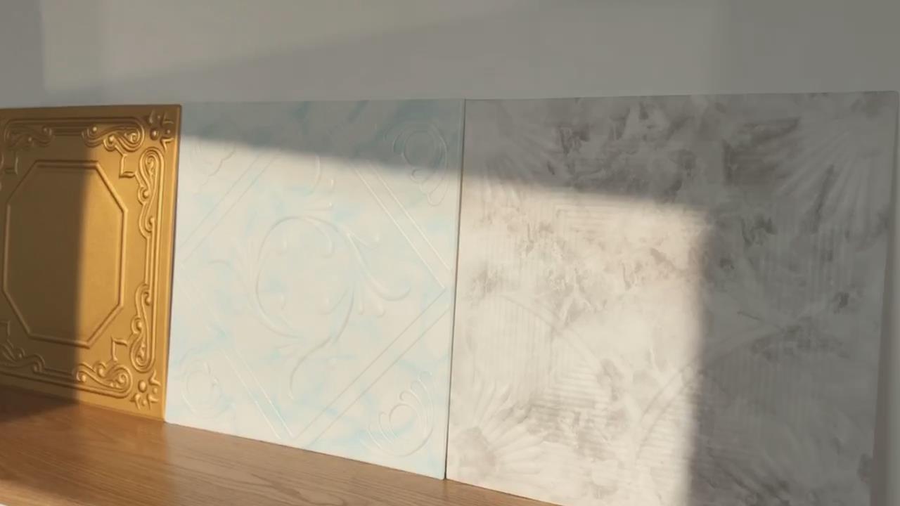 Polystyrene foam ceiling tiles-Styrofoam ceiling tiles+Products Show +Banruo+BR3D