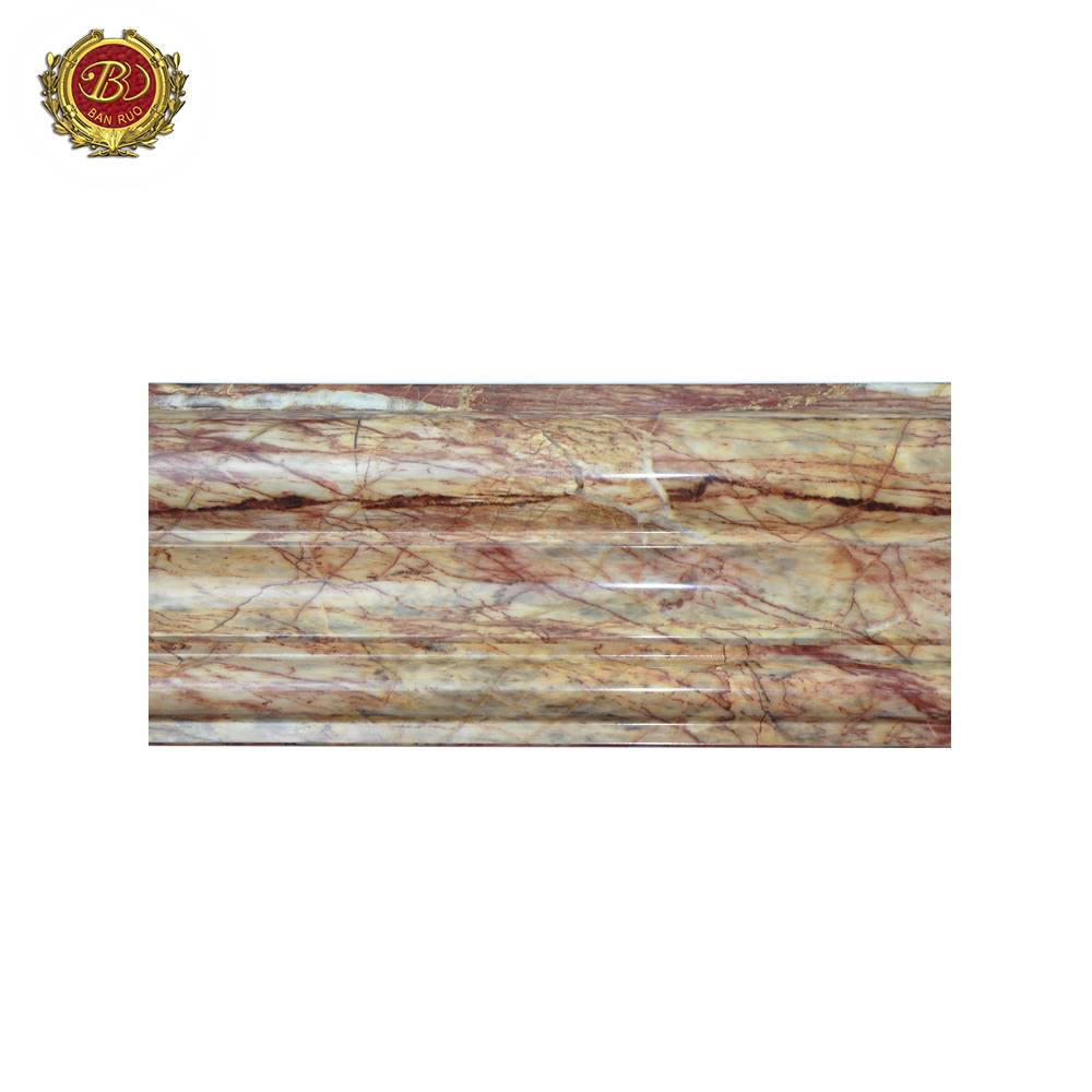 Banruo Low Price PS Faux Marble Window Frame Molding For Wall Decoration