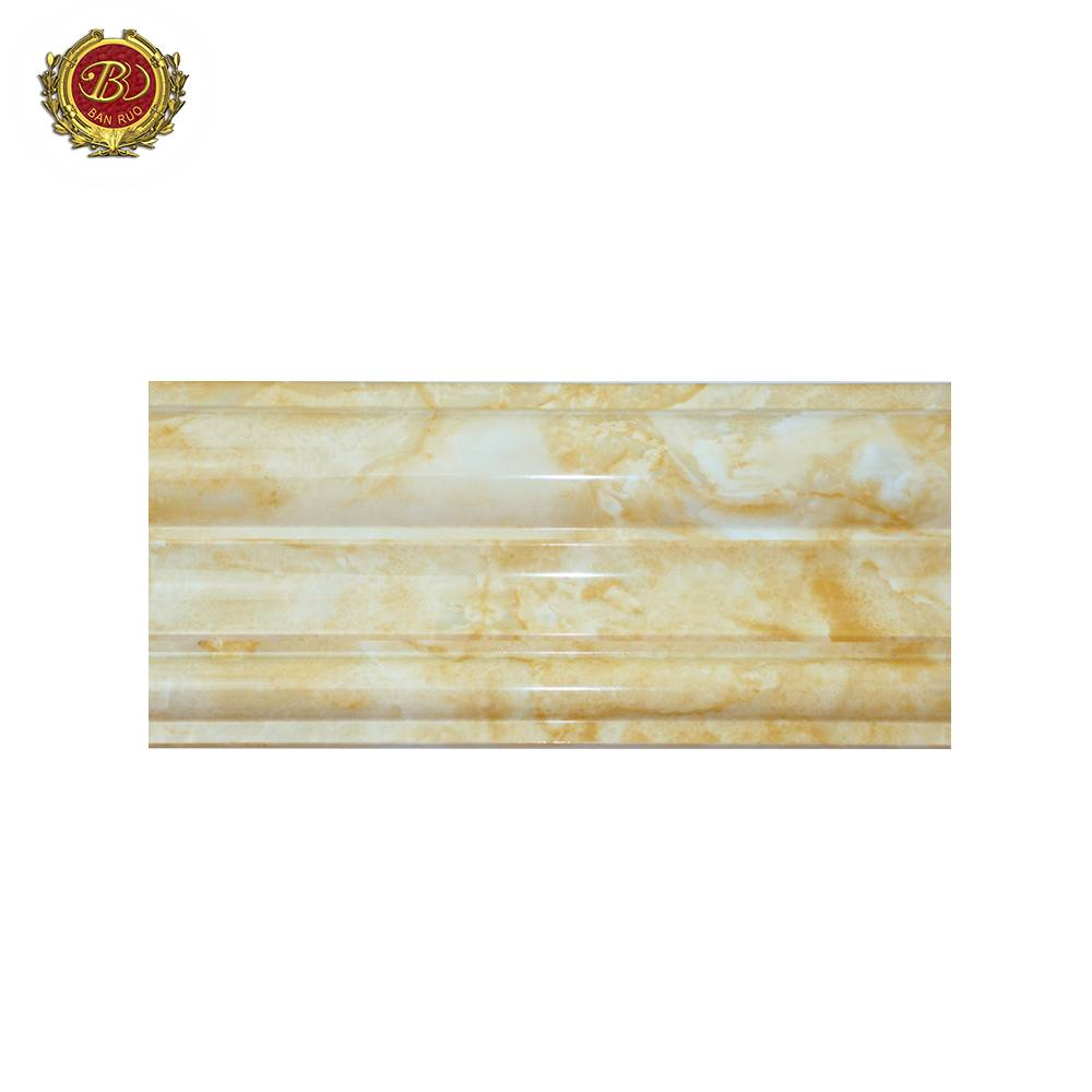 Banruo High Quality PS Faux Marble Window Moldings Casing For Wall Decoration