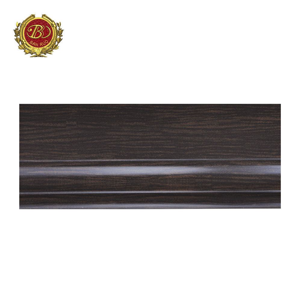Banruo Wholesale Classic Wood Texture Baseboard Molding Styles